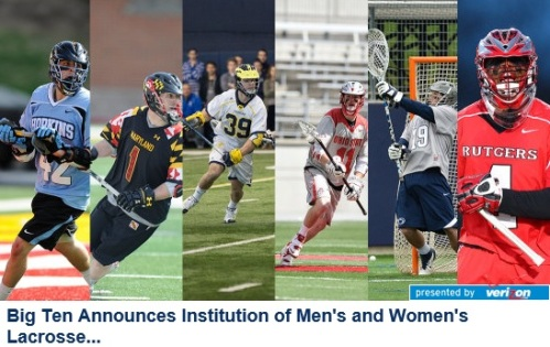 Big Ten Men's Lacrosse Official Announcement