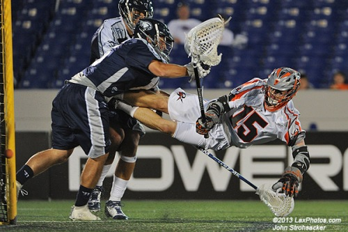 Eric Law kept his perfect shooting streak intact, leading all players with five goals. Law, who scored on all four of his shots in his MLL debut last week was 5-of-5 shooting on Saturday to increase his goal total to nine on nine shots.