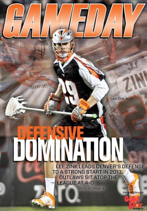 Denver Outlaws Gameday Lee Zink Defensive Domination