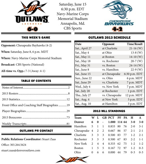 Denver Outlaws vs Chesapeake Game Notes-page-001