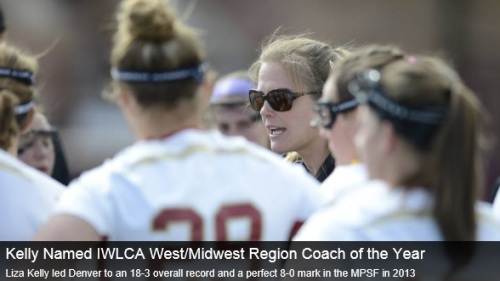 Denver Women's Lacrosse Head Coach Liza Kelly Named IWLCA West Region Coach Of The Year