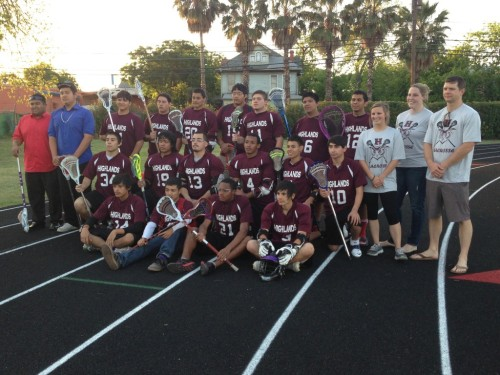 Highlands High School Boys Lacrosse Team