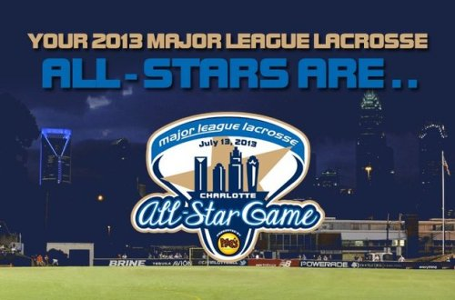 Major League Lacrosse All Stars 2013