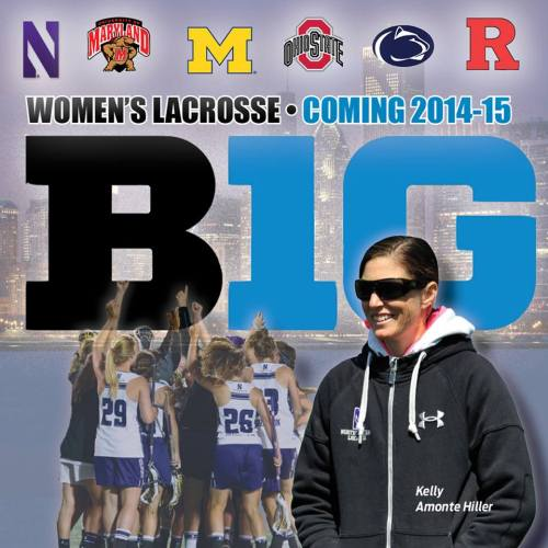 Northwestern Women's Lacrosse Joins Big Ten Lacrosse Conference