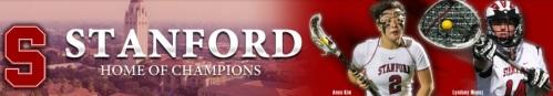 Stanford Women's Lacrosse Banner