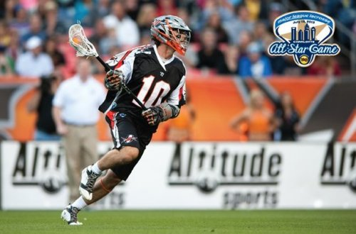 Denver Outlaws Attacker Chris Bocklet MLL All Star
