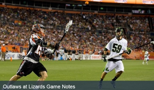 Denver Outlaws vs New York Lizards Game