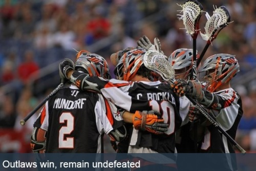 Denver Outlaws vs Rochester Rattlers