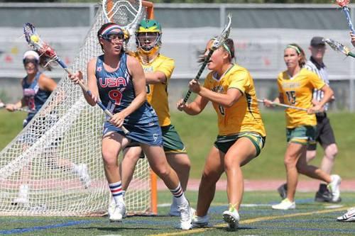 Team USA Women's Lacrosse vs Australia 2013