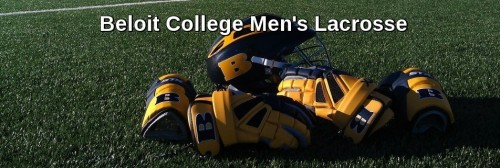 Beloit College Men's Lacrosse Banner