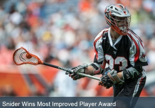 Denver Outlaws Drew Snider Most Improved Player
