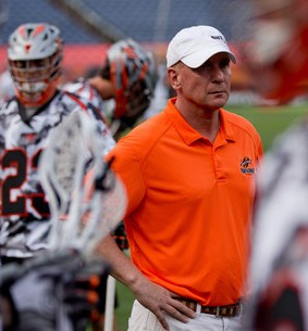 Denver Outlaws Head Coach Jim Stagnitta