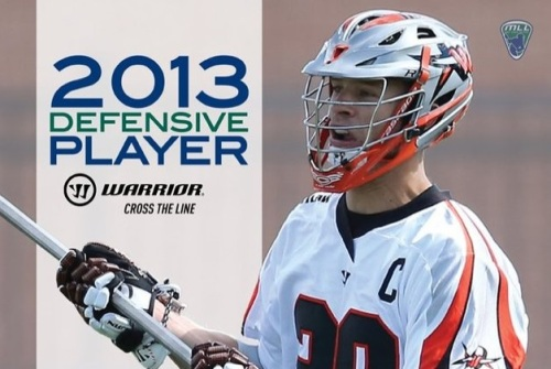 Denver Outlaws Lee Zink 2013 MLL Defensive Player of the Year