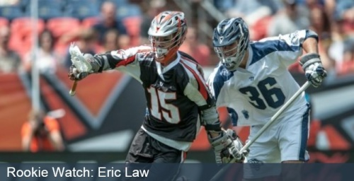 Denver Outlaws Rookie Eric Law