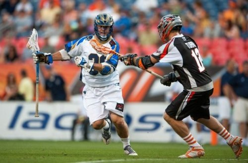 Denver Outlaws vs Charlotte Hounds 2013 MLL Championship Weekend Semifinal
