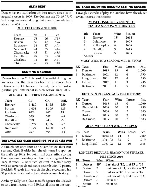 Denver Outlaws vs Hamilton Nationals game notes-page-002