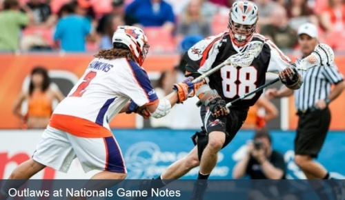 Denver Outlaws vs Hamilton Nationals