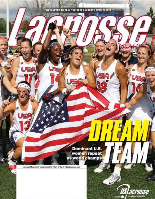 Lacrosse Magazine September 2013 Issue Cover