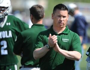 Loyola Men's Lacrosse Head Coach Charley Toomey