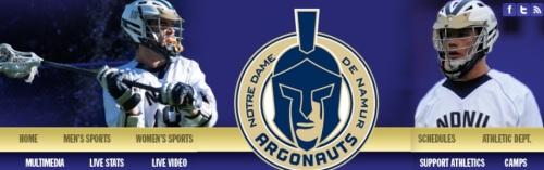 Notre Dame de Namur Men's Lacrosse Banner