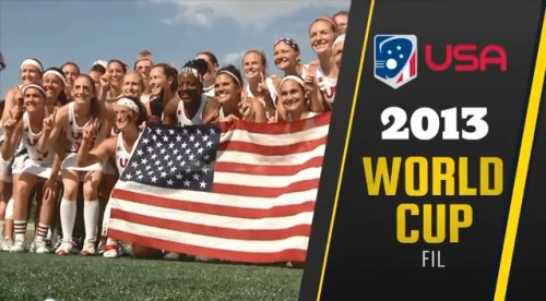 Team USA Women's Lacrosse 2013 FIL World Cup Champions