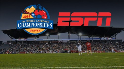 2014 FIL Men's Lacrosse World Championships on ESPN