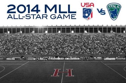 2014 MLL All-Star Game Team USA