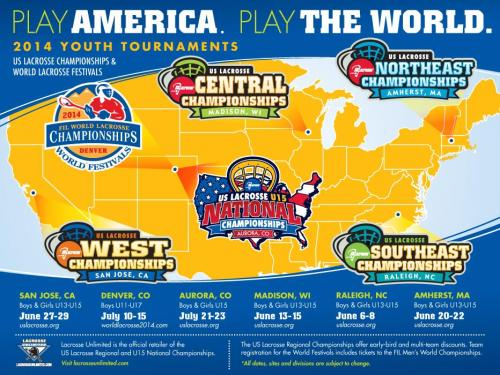 2014 US Lacrosse Championships and World Lacrosse Festivals