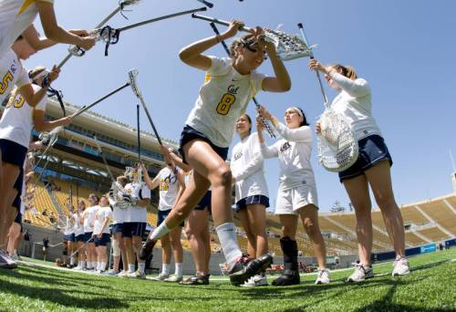 Cal Berkeley Women's Lacrosse Fall Ball 2013