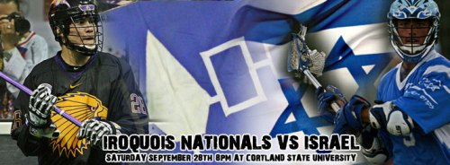 Iroquois Nationals vs Israel Lacrosse
