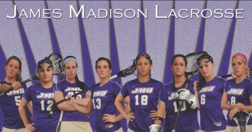 James Madison Women's Lacrosse Banner