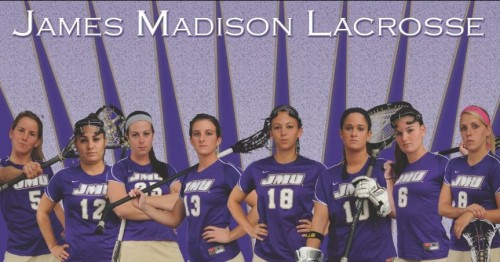 James Madison Women's Lacrosse Banner