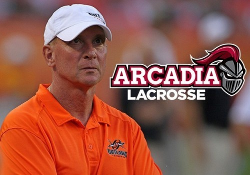 Jim Stagnitta Head Coach Arcadia Men's Lacrosse NCAA Div III
