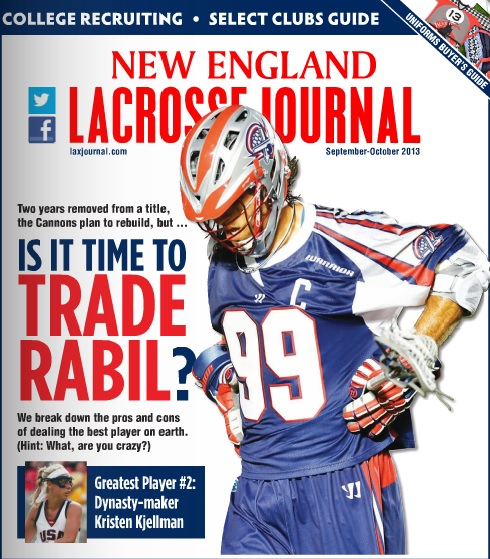 New England Lacrosse Journal Sept Oct 2013 online edition