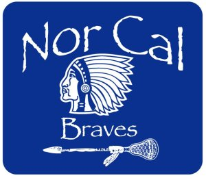 Nor Cal Braves Lacrosse Logo