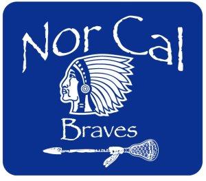 Nor Cal Braves Lacrosse Logo