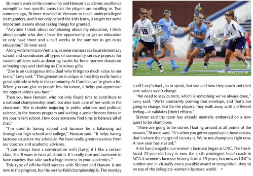 North Carolina Women's Lacrosse 3