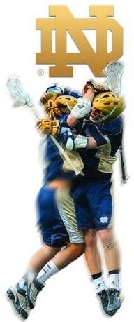 Notre Dame Men's Lacrosse Side Banner