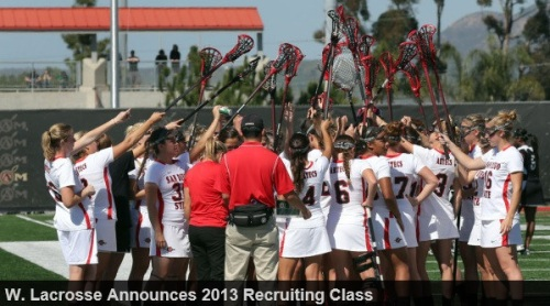 San Diego State Women's Lacrosse 2013 Recruiting Class