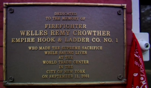 Welles R. Crowther Firefighter World Trade Center Hero Sept 11 2001