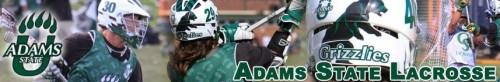 Adams State Lacrosse Banner