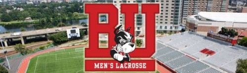 Boston University Men's Lacrosse Banner