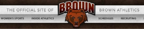 Brown Women's Lacrosse Banner