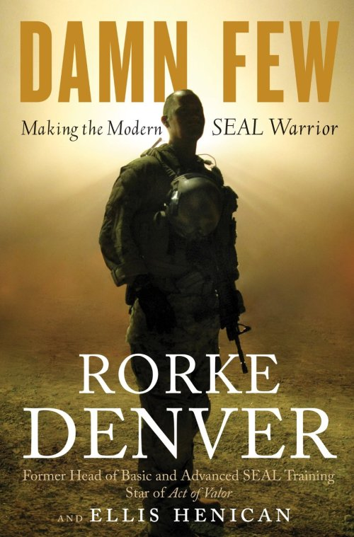 Former Syracuse men's lacrosse All-American and current Navy SEAL Lt. Commander Rorke Denver
