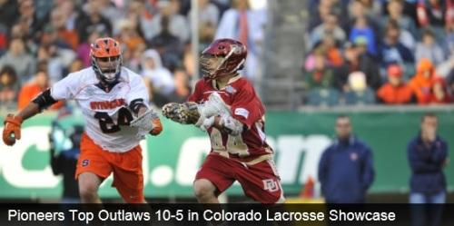 Denver Men's Lacrosse vs Denver Outlaws Colorado Showcase