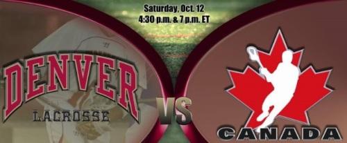 Denver Men's Lacrosse vs Team Canada