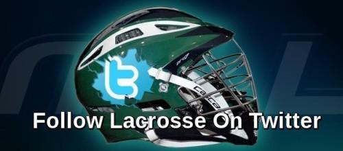 Follow Lacrosse On Twitter