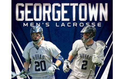 Georgetown Men's Lacrosse Cover 2