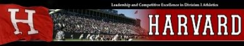 Harvard Women's Lacrosse Banner