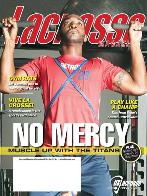 Lacrosse Magazine November 2013 Issue